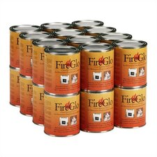24 Cans of FireGlo Gel Fuel
