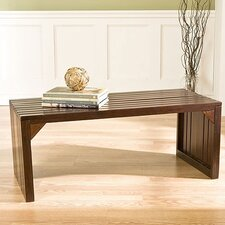 <strong>Wildon Home ®</strong> Wakefield Slat Table / Bench