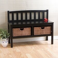 <strong>Wildon Home ®</strong> Harrison Wood Storage Bench