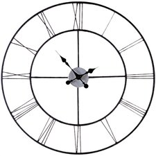 "<strong>Wildon Home ®</strong> Oversized 30"" Frost Decorative Wall Clock"