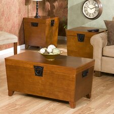 Danville 3 Piece Trunk Coffee Table Set