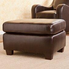 Beckett Leather Ottoman