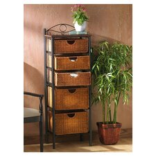 "<strong>Wildon Home ®</strong> Utah 52.25"" x 18"" Storage Unit"