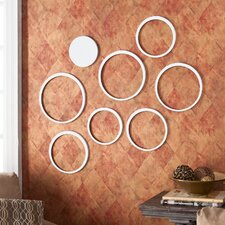Ardmore Circle Wall Sculpture (Set of 8)