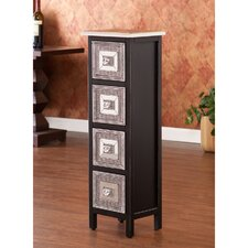 <strong>Wildon Home ®</strong> Woburn 4 Drawer Storage Tower