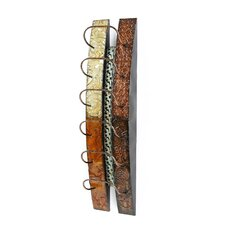 Catania 6 Bottle Wall Mounted Wine Rack