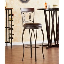 "Tatum 30"" Swivel Bar Stool with Cushion"