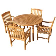 <strong>Wildon Home ®</strong> Grafton 5 Piece Dining Set
