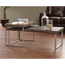 Newberry 2 Piece Nested Coffee Table Set