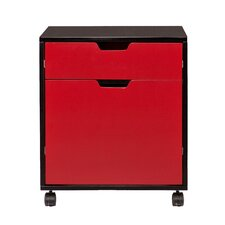 Benton 2-Drawer Mobile File Cabinet