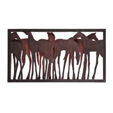Grainger Horse Wall Sculpture