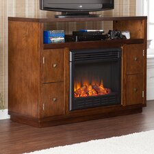 "Jennings 48"" TV Stand with Electric Fireplace"
