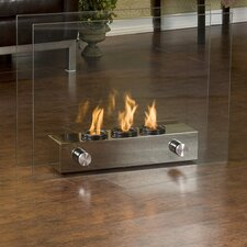 Cherokee Portable Gel Fuel Indoor/ Outdoor Fireplace