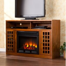 "Lipan 50"" TV Stand with Electric Fireplace"