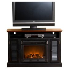 """Fox 48"""" TV Stand with Electric Fireplace"""