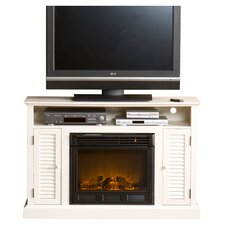 "Fox 48"" TV Stand with Electric Fireplace"