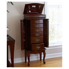 <strong>Wildon Home ®</strong> Richmond Jewelry Armoire with Mirror
