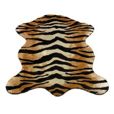 Animal Tiger Novelty Rug