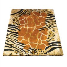<strong>Walk On Me</strong> Animal Safari Print Rug