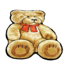 <strong>Walk On Me</strong> Teddy Bear Kids Rug