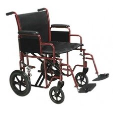 Steel Transport Bariatric Wheelchair
