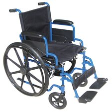 "<strong>Drive Medical</strong> Streak 18"" Standard Wheelchair"