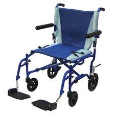 """Aluminum 19"""" Ultra Lightweight Wheelchair"""