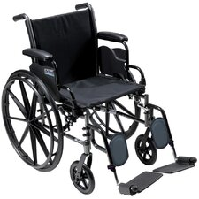 <strong>Drive Medical</strong> Cruiser III Lightweight Bariatric Wheelchair