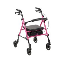 Breast Cancer Awareness Rolling Walker