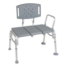 <strong>Drive Medical</strong> Heavy Duty Bariatric Plastic Seat Transfer Bench