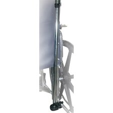 Deluxe Manual Wheelchair Cane / Crutch Holder