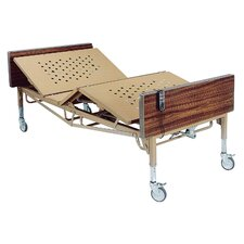 <strong>Drive Medical</strong> Heavy Duty Bariatric Hospital Bed in Brown
