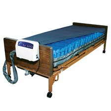 <strong>Drive Medical</strong> Med Aire Low Air Loss Mattress Replacement System with Alarm in Blue