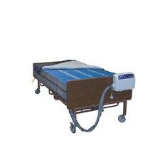 Med Aire Bariatric Low Air Loss Mattress Replacement System in Blue