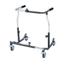 Bariatric Heavy Duty Anterior Safety Roller in Black