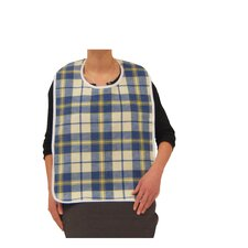 Lifestyle Flannel Bib in Plaid