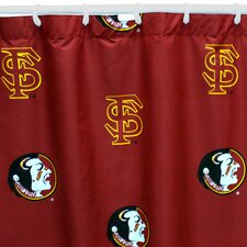 NCAA Printed Shower Curtain