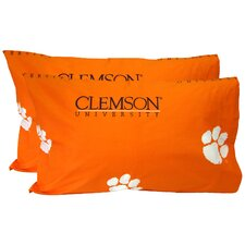 Clemson Tigers King Pillow Case Set