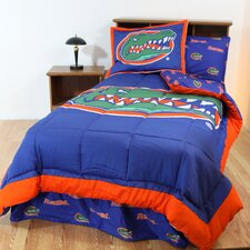 NCAA Florida Bed in a Bag - With White Sheets
