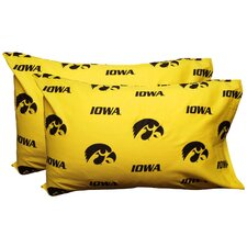 Iowa Hawkeyes Pillow Case Set