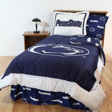NCAA Bed in a Bag with Team Colored Sheets Collection