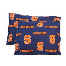 NCAA Cotton Sateen Pillow Case (Set of 2)