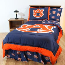 NCAA Auburn Bed in a Bag with Team Colored Sheets Collection