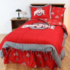 NCAA Ohio State Bed in a Bag with Team Colored Sheets Collection
