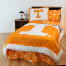 NCAA Tennessee Bed in a Bag with Team Colored Sheets Collection