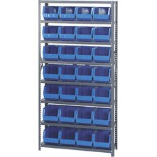 "<strong>Quantum Storage</strong> 12"" Giant Open Hopper Shelf Storage System"