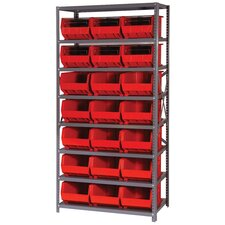 "18"" Giant Open Hopper Shelf Storage System"