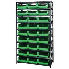 9 Shelf Giant Open Hopper Magnum Storage Unit (Complete Package)