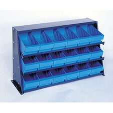 <strong>Quantum Storage</strong> Bench Pick Rack Storage Systems with Euro Bins