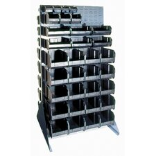 Conductive Double Sided Louvered Rack